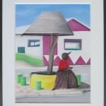 Schattenplatz in Omaruru / 40 x 50 cm / Fr. 480.00
