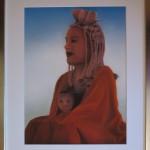 Himba mit Kind / 50 x 40 cm / Fr. 520.00