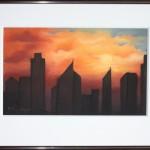 Dubai / 39 x 29 / CHF 250.-